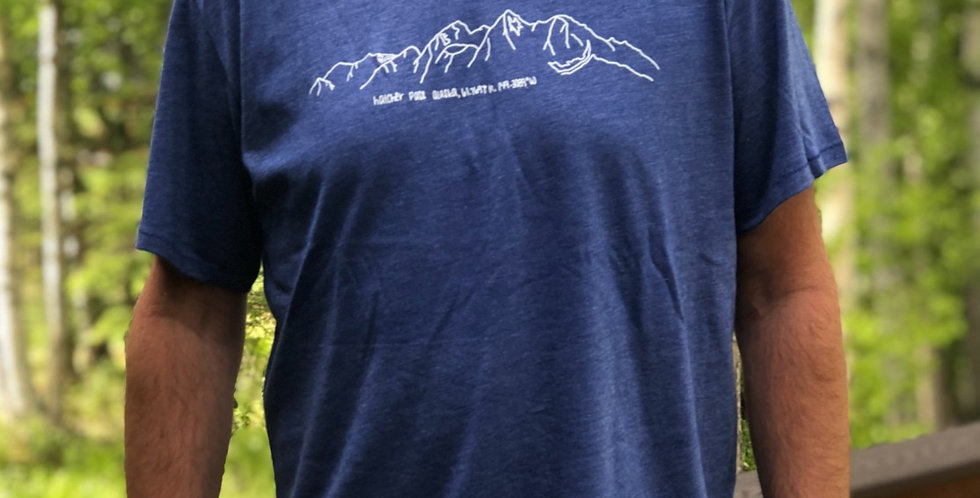 Mens, Hatcher Pass Coordinates T-Shirt
