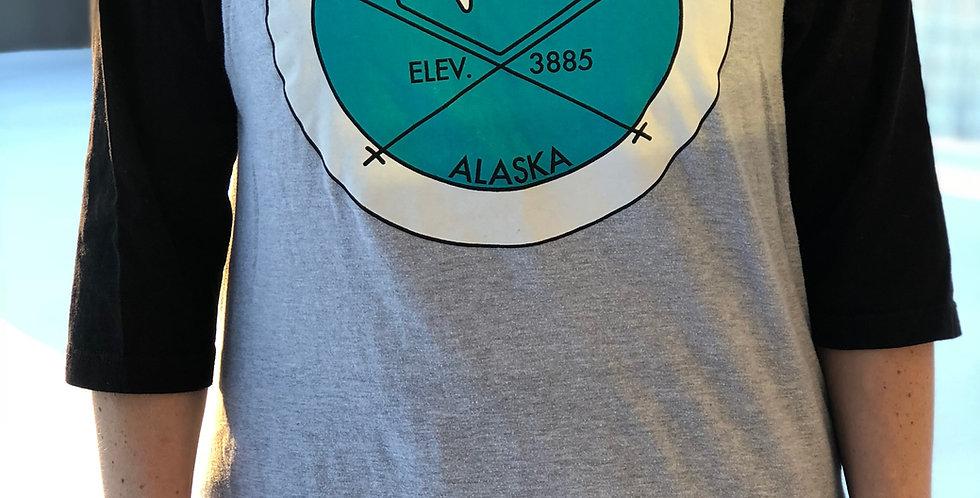 Unisex, Hatcher Pass Elevation Baseball T