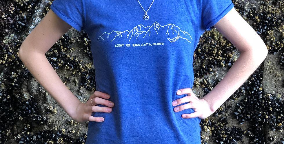 Women's, Hatcher Pass Coordinates T-Shirt