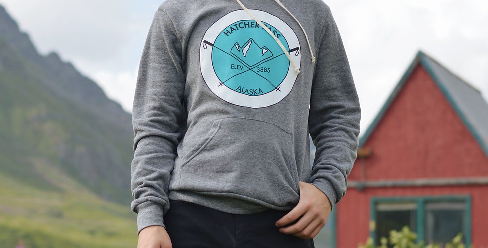 Mens Hatcher Pass Elevation Hoodie