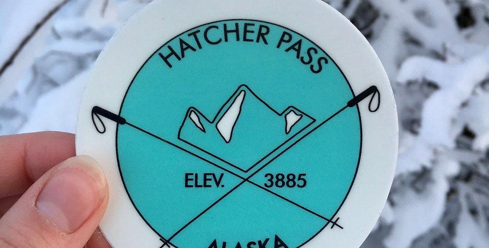 Hatcher Pass Elevation Sticker