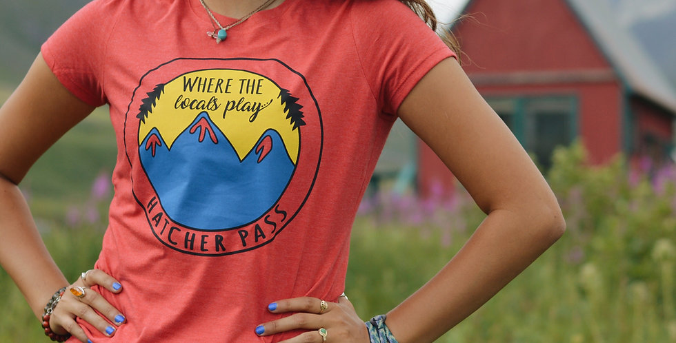 Women's, Hatcher Pass Locals T-shirt