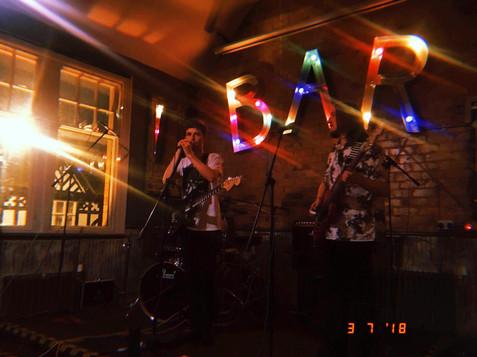 NOVA LUNA performing at Archie's Bar, Prestatyn