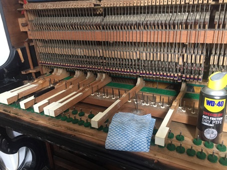 Piano Restoration Lockdown Project