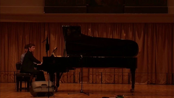 Performing Piano Etude No 2. by Philip Glass