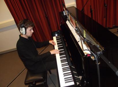 Piano Recording at UWE