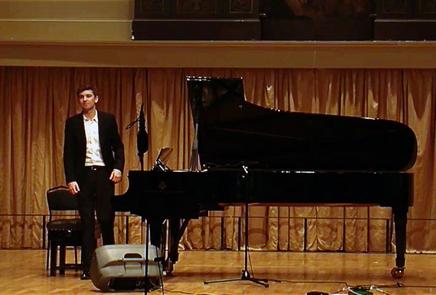 Piano Recital at St George's Concert Hall, Bristol