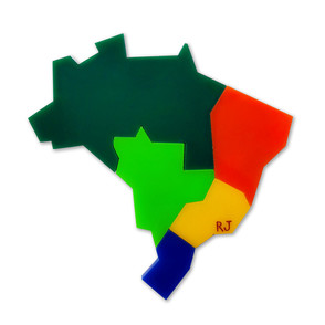 Ímã Regiões do Brasil