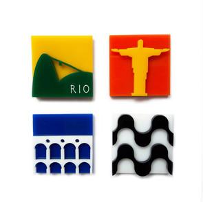 Ímã Lembrança do Rio