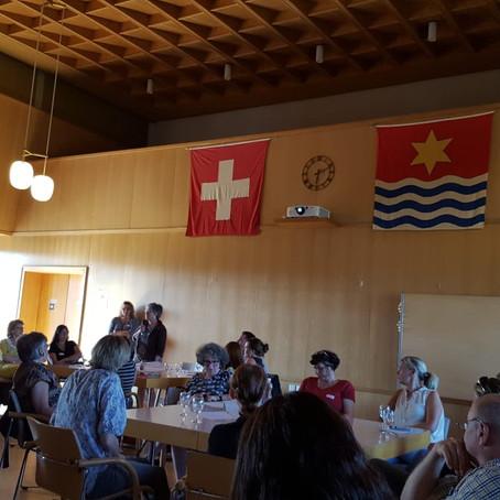 Sete comunidades se reunem em Wettingen para discutir sobre integração