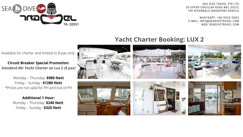 Yacht Charter Singapore: LUX 2