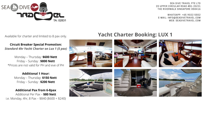Yacht Charter Singapore: LUX 1