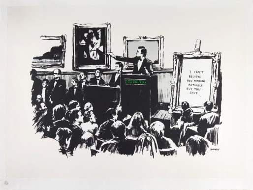 From the Burnt-Banksy Event to the NFTs Collectibles