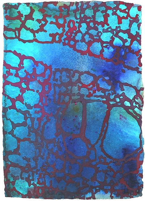 卡特·霍奇金(Carter Hodgkin),《藍色2.02》,2002年