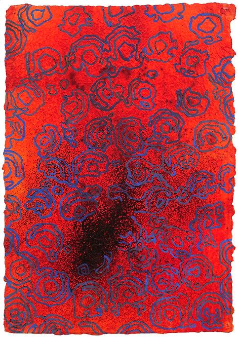 凱特·霍奇金(Cater Hodgkin),紅色1,2000年