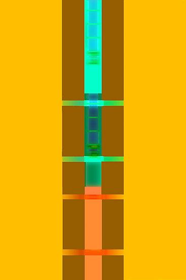 Richard Garet, Time Frame Series Glared chamber 4 (in Glared Chamber Series), 20