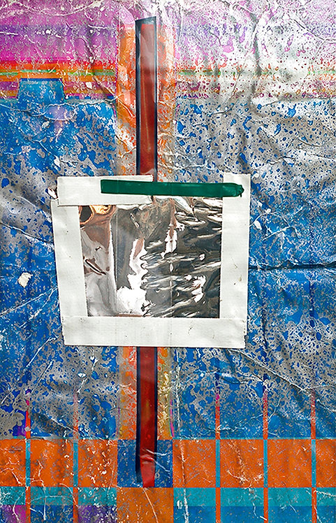 Richard Garet, Treating Pictures Like Wire: #7, 2015