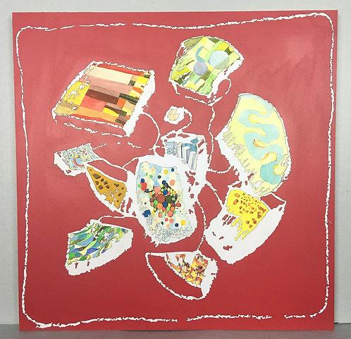 紅色美杜莎,福米卡繪畫系列,2006年