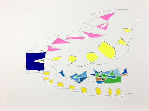"""小約翰·西蒙(John F.Simon),《循環擴展》,於""""擴展系列"""",2013年"""