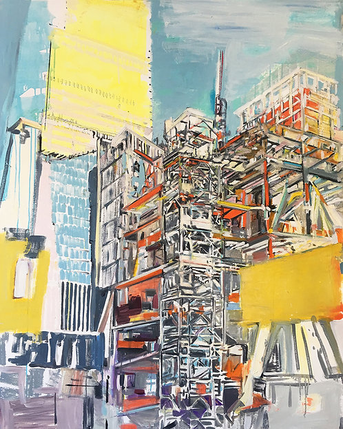 Mary Ann Strandell, Hudson Yard Tower (Tower with Shed), 2018