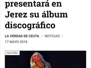 La CeutíSara Sae presentará en Jerez su álbum discográfico