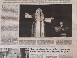 Sara Sae emociona en Ceuta