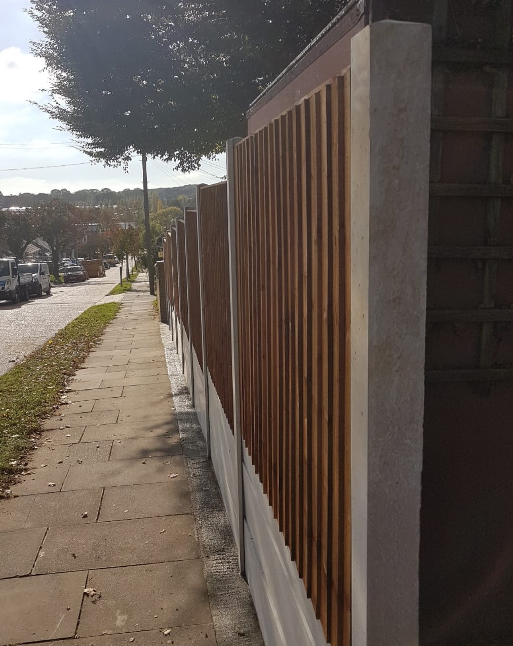 Stepped Fencing