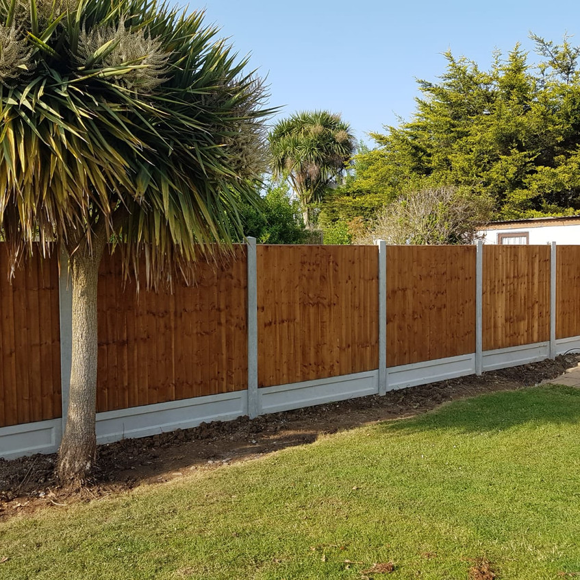 6ft Feather Edge Fencing from Fencing on Sea