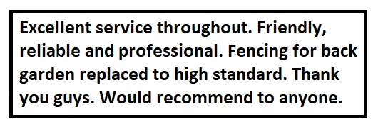 Fencing on Sea Customer Review