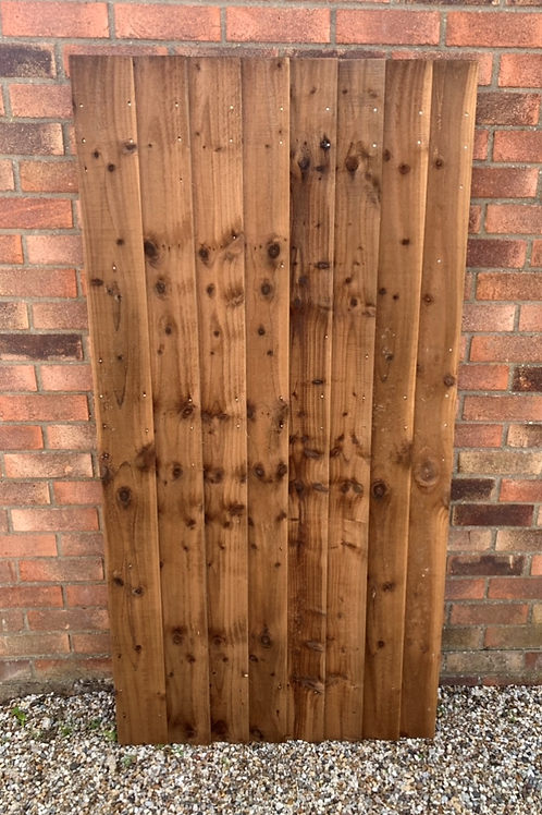 Feather Edge Straight Top Gate