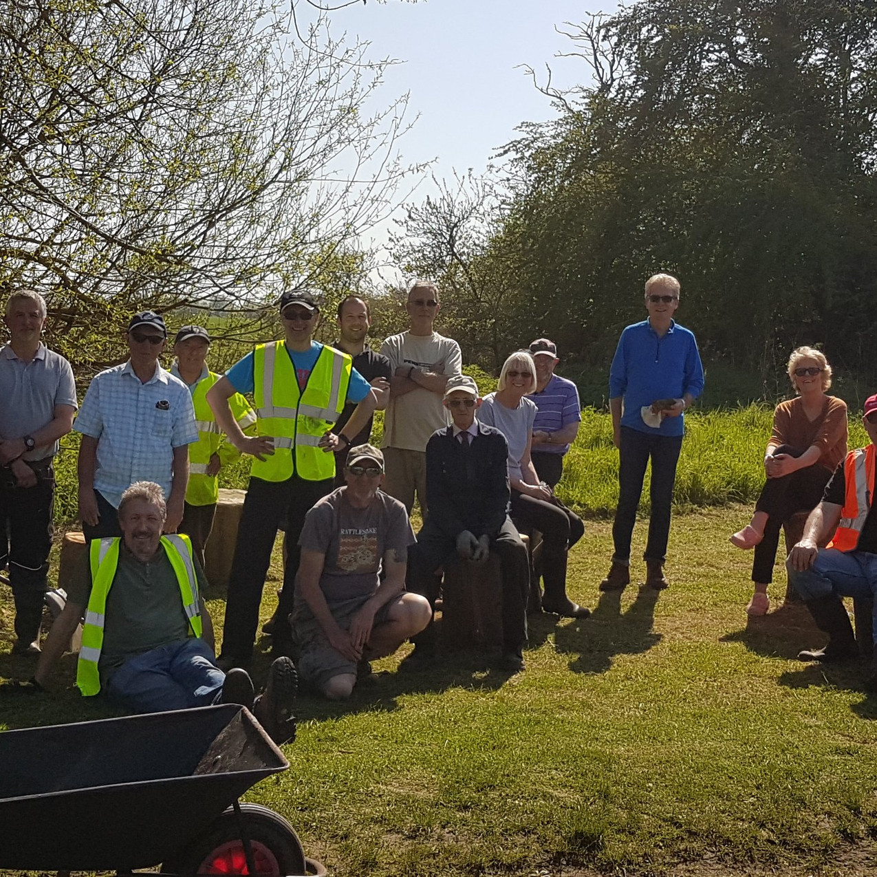Wakering Common Work Party