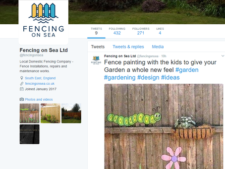 Fencing on Sea Social Media pages