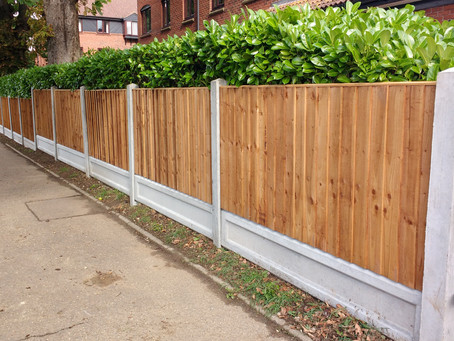 Latest completed project by the Fencing on Sea Team