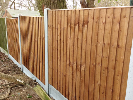 Latest Fencing on Sea Fence repairs