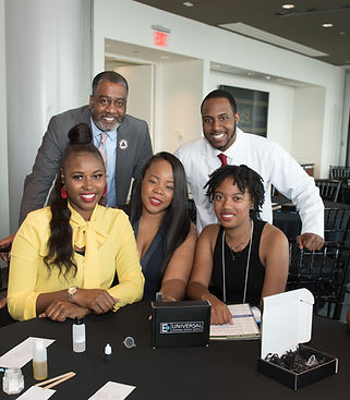 Dr. Jalaal A. Hayes (Dr. JAH- STEM Speaker) and the Marion Berry Summer Youth Employment Program Team 2019