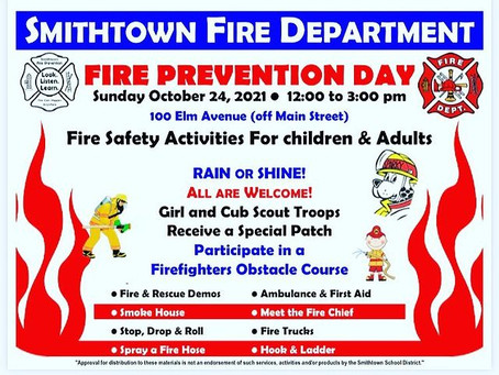 Fire Prevention Day 2021