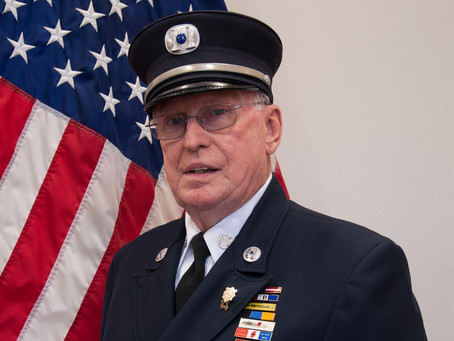 Sad News: Ex-Captain Charles E. Duffy answers his last alarm