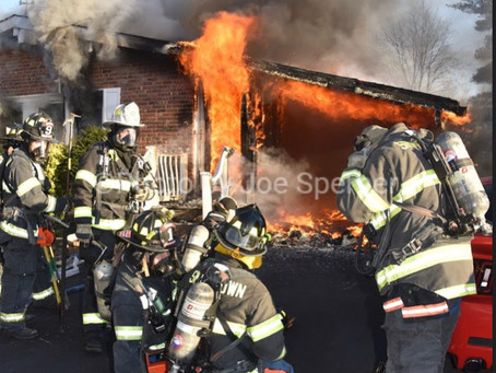 Carport Fire Extends to the Attic on Dartmouth