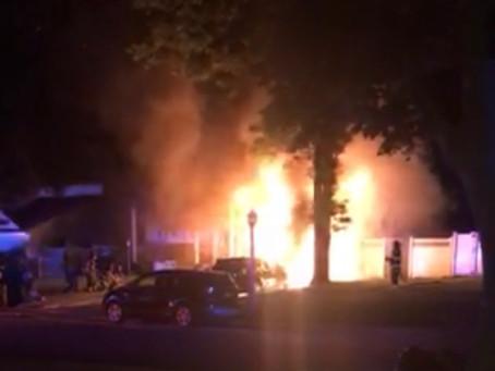 Smithtown House Fire on Stuyvesant Lane