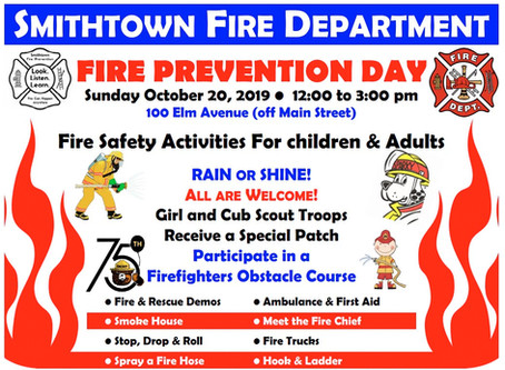 Fire Prevention Day 2019
