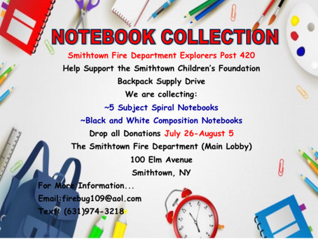 Notebook Collection Drive