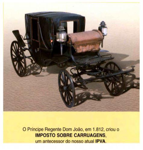 Imposto Sobre Carruagens - Ano 2001