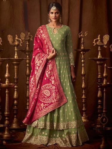 1c4d7b8d53 Latest Ethnicroop Designer Indian Anarkali Dress   Salwar Suit Design