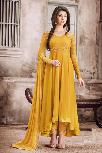 33f4198204 Latest Ethnicroop Designer Indian Anarkali Dress | Salwar Suit Design
