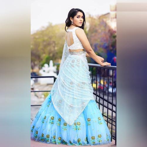 222be571de Ethnicroop Indian Designer Ruffle Lehenga 2019 | Chaniya Choli Design