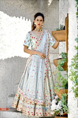 37c87ea80c Ethnicroop Indian Designer Ruffle Lehenga 2019 | Chaniya Choli Design