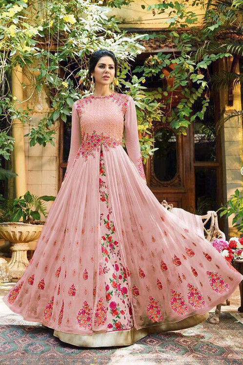 Hevy Designer & Party Wear Long Gown