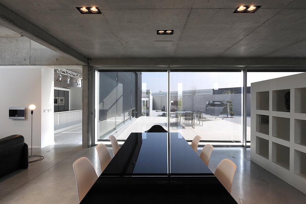 Menuiserie Aluminium nord baie vitré, bais coulissante