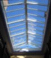 Verriere toiture plate en verre