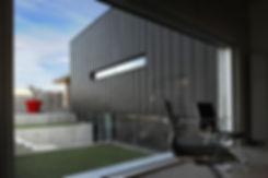 Grand vitrage fixe menuiserie aluminium